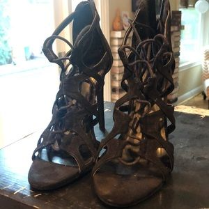 All Black Charlotte Russe Heels